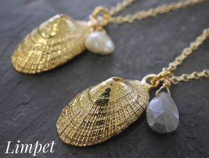 Vermeil Shell Necklaces