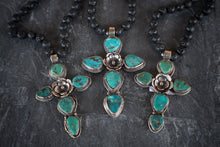 Lava With Turquoise Cross & Suede