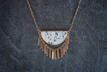 Howlite Ripple Effect Necklace