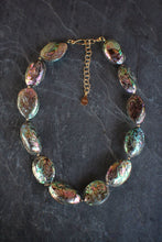 sea and stone jewelry Abalone Statement Necklace