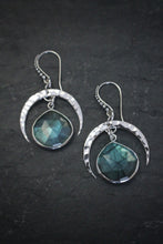 Sea and Stone Interstellar Sterling Labradorite Earrings