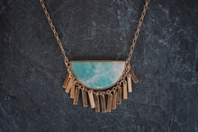 Amazonite Ripple Effect Necklace