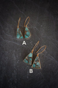 One-of-a-kind Amazonite Earrings