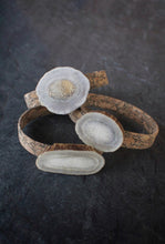 sea and stone jewelry Cork and Antler Slice Bracelet