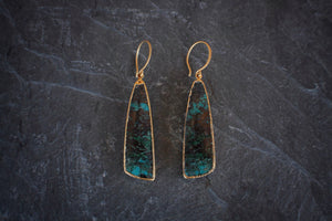 One-of-a-kind Parrot Wing Earrings