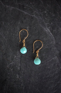 Dainty Turquoise Drops
