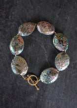 sea and stone jewelry Abalone & Toggle Statement Necklace