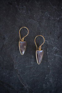 sea and stone jewelry Moonstone Dagger Drops