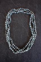 sea and stone jewelry X-Long Jasper Wrap Necklace