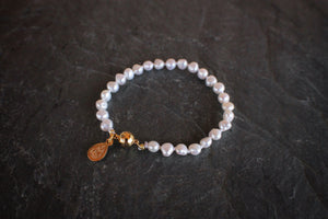 sea and stone jewelry Magnetic Pearl Bracelet