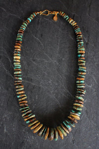sea and stone jewelry Chunky Turquoise Necklace
