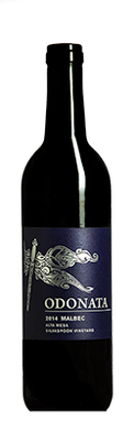 SOLD OUT Odonata Wines 2017 Malbec, Pedregal Vineyard, San Benito County