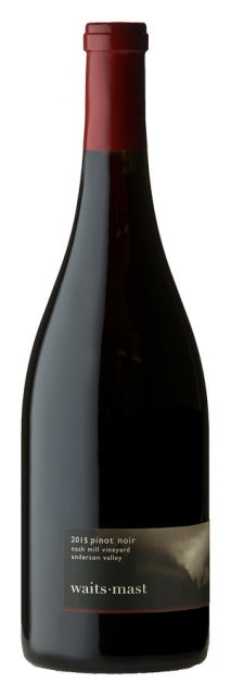 Waits-Mast 2016 Pinot Noir, Nash Mill Vineyard, Anderson Valley