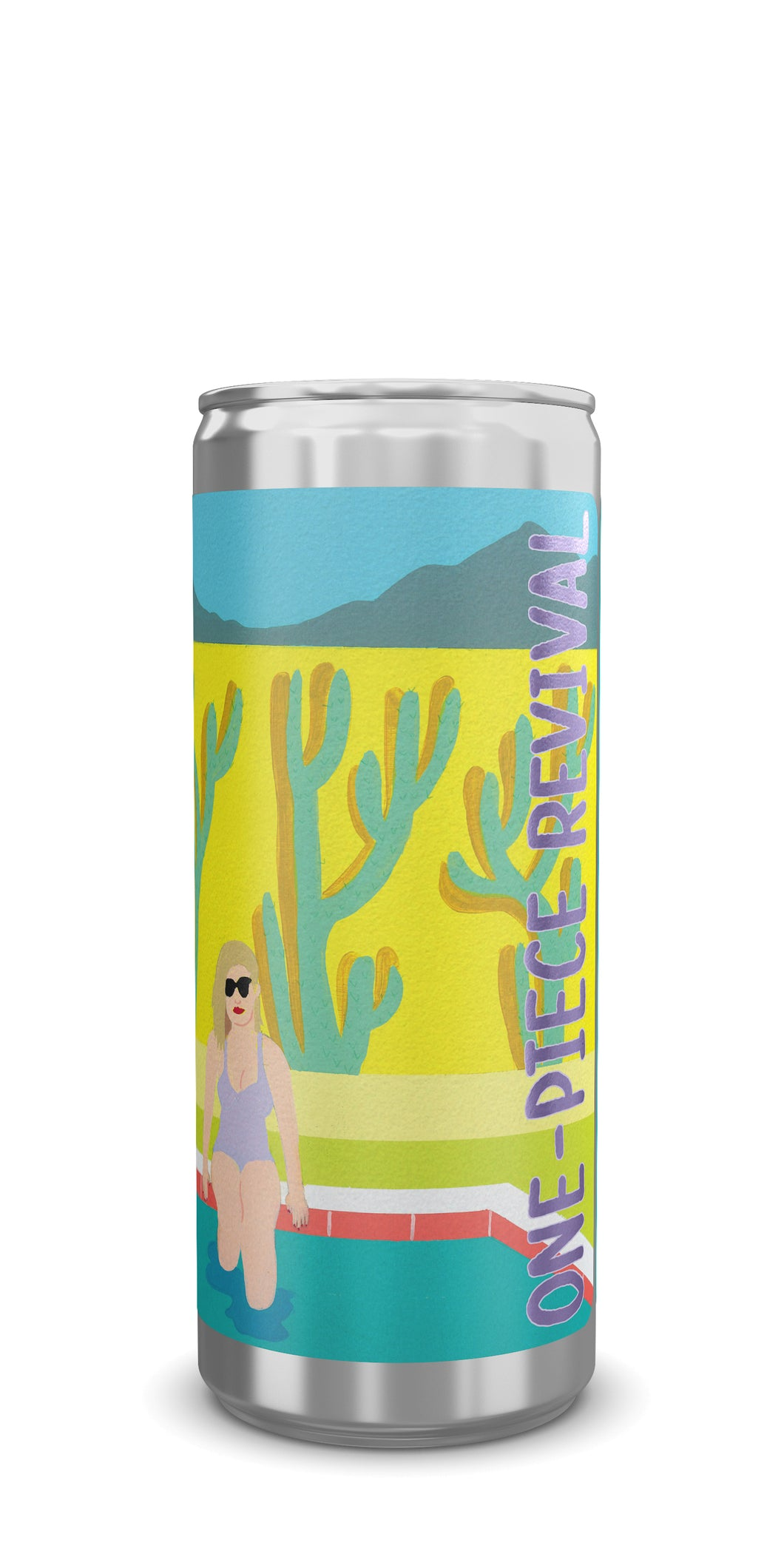 Richvale Wines One Piece Revival 2017 Muscat/Grenache Blanc Cans 24pk/250ml, Central Coast