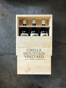 Herman Story 2016 Cabernet Sauvignon, Chelle Mountain Vineyard York Mtn 3pk