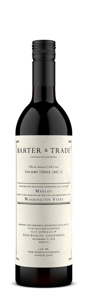 Barter & Trade 2017 Merlot, Washington