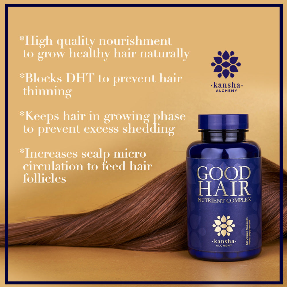 2-pack GOOD HAIR NUTRIENT COMPLEX - 180 caps, 2 month supply 33% discount