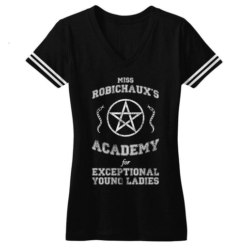 American Horror Story Miss Robichaux's Academy V Neck Tee