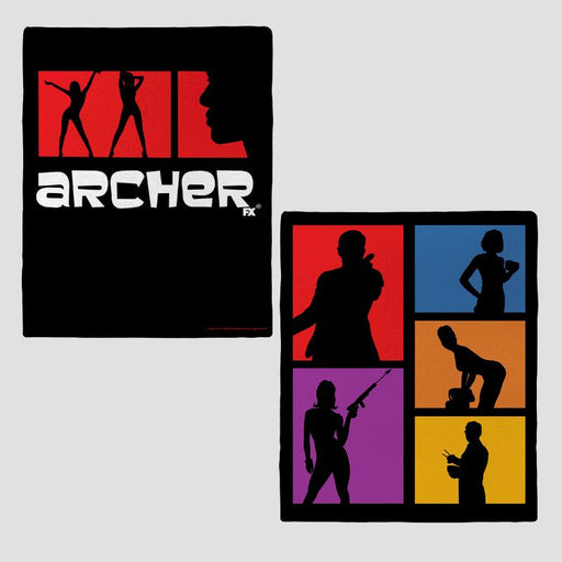 Archer Colorblock Fleece Blanket