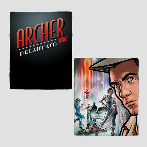 Archer Dreamland Fleece Blanket