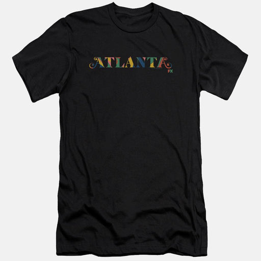 Atlanta Mural Logo Black T-Shirt