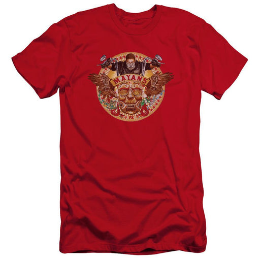 Mayans Key Art Red T-Shirt