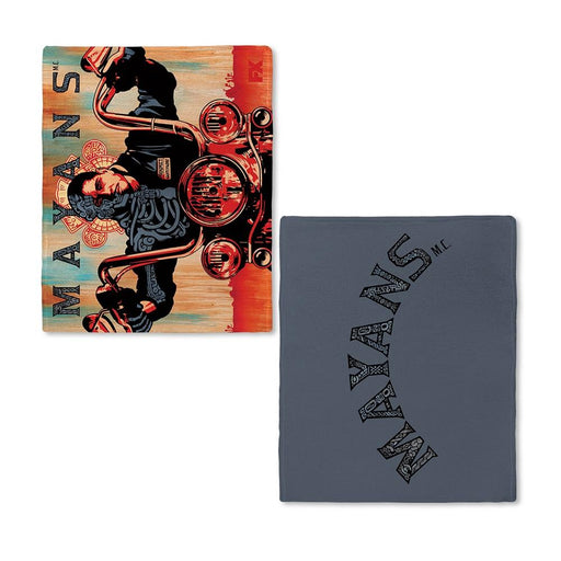 Mayans Grey Key Art Fleece Blanket