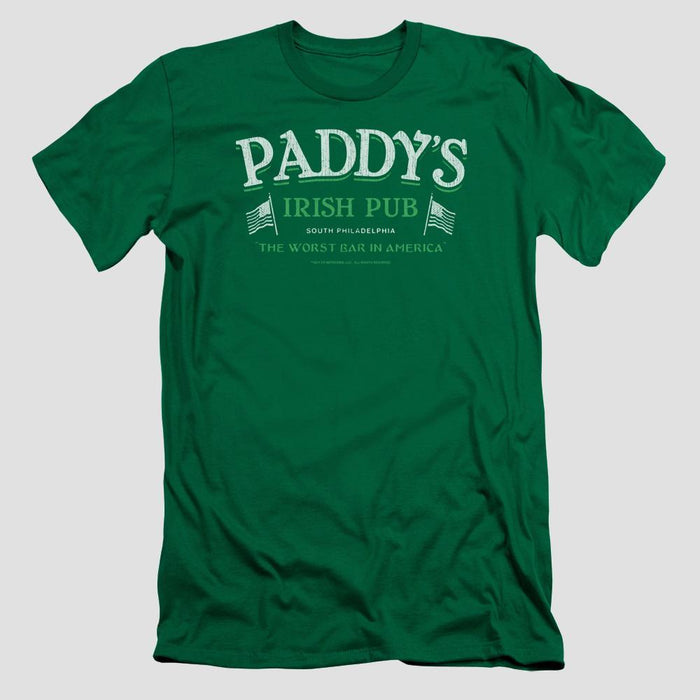 It's Always Sunny in Philadelphia Paddy's Irish Pub Adult Green T-Shirt