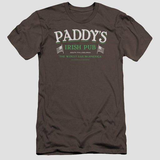 It's Always Sunny in Philadelphia  Paddy's Irish Pub Adult Charcoal T-Shirt