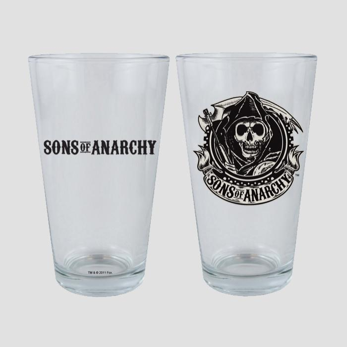 Sons of Anarchy Pint Glass Set