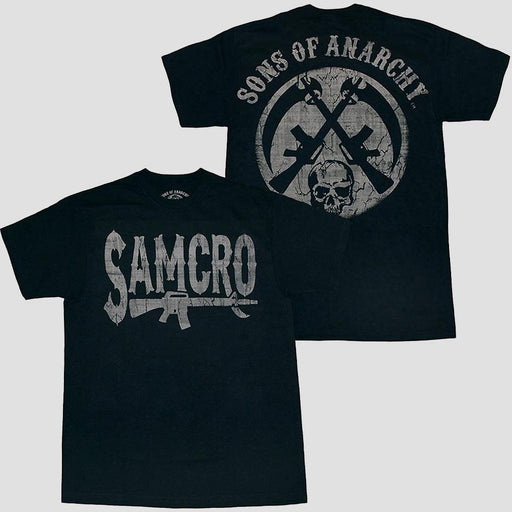 Sons of Anarchy Rifle Logo T-Shirt