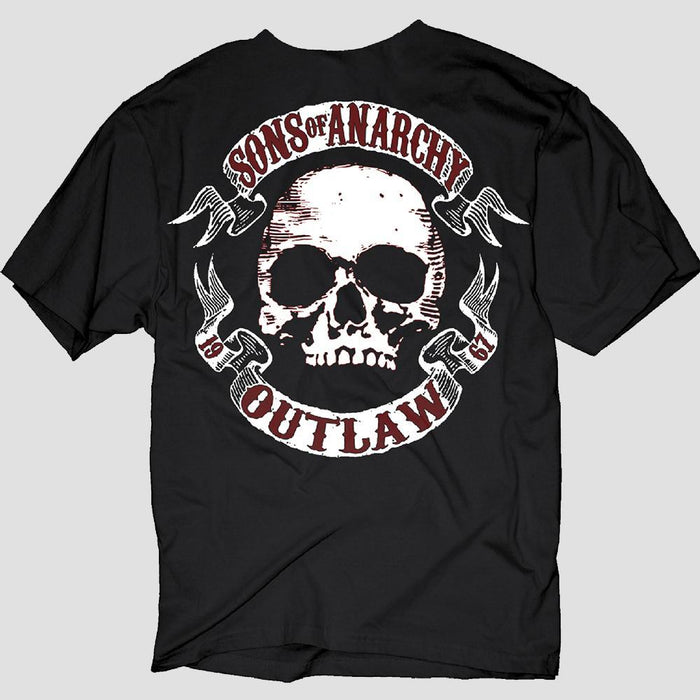 Sons of Anarchy Scroll and Skull T-Shirt
