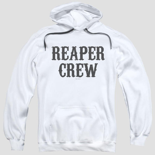 Sons of Anarchy Reaper Crew White Pullover Hoodie
