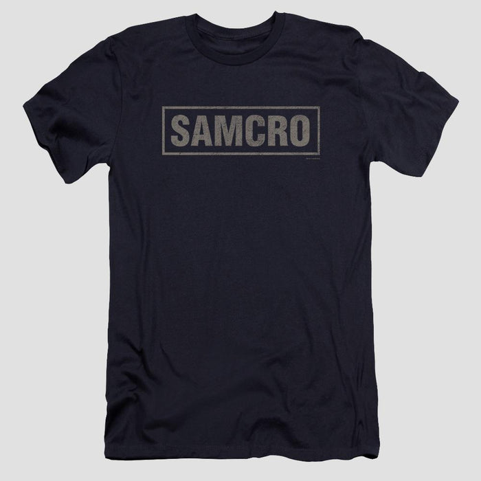 Sons of Anarchy SAMCRO Logo Navy T-Shirt