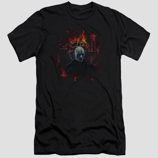 The Strain Quinlan Adult Black T-Shirt