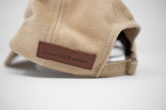 LOVE YOUR MELON - Adult Camel Cashmere Cap