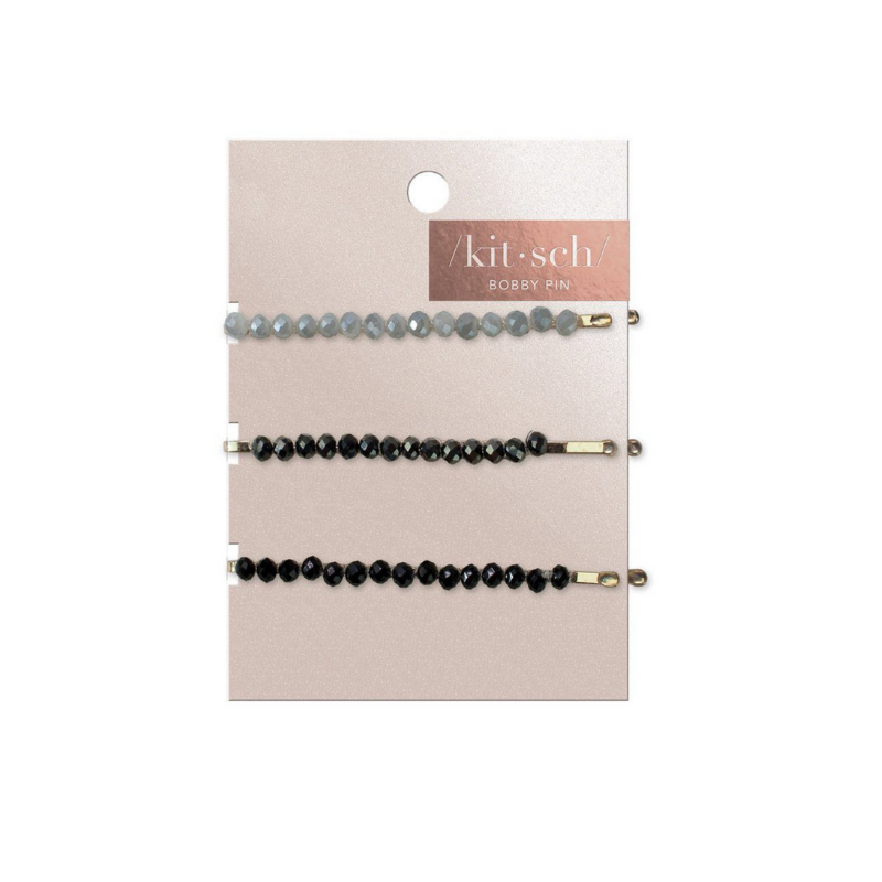 KIT.SCH - Beaded Bobby Pins