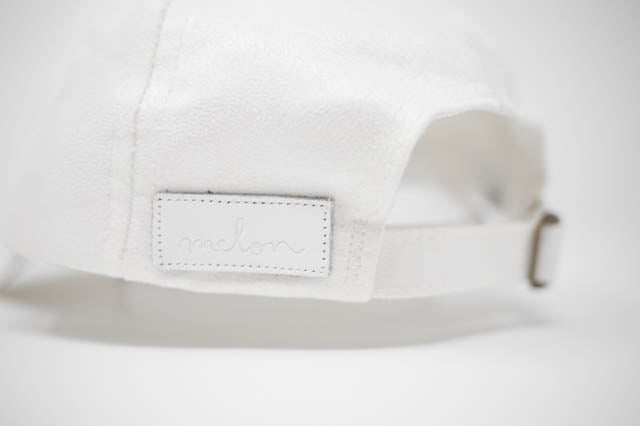 LOVE YOUR MELON - White Suede Cap