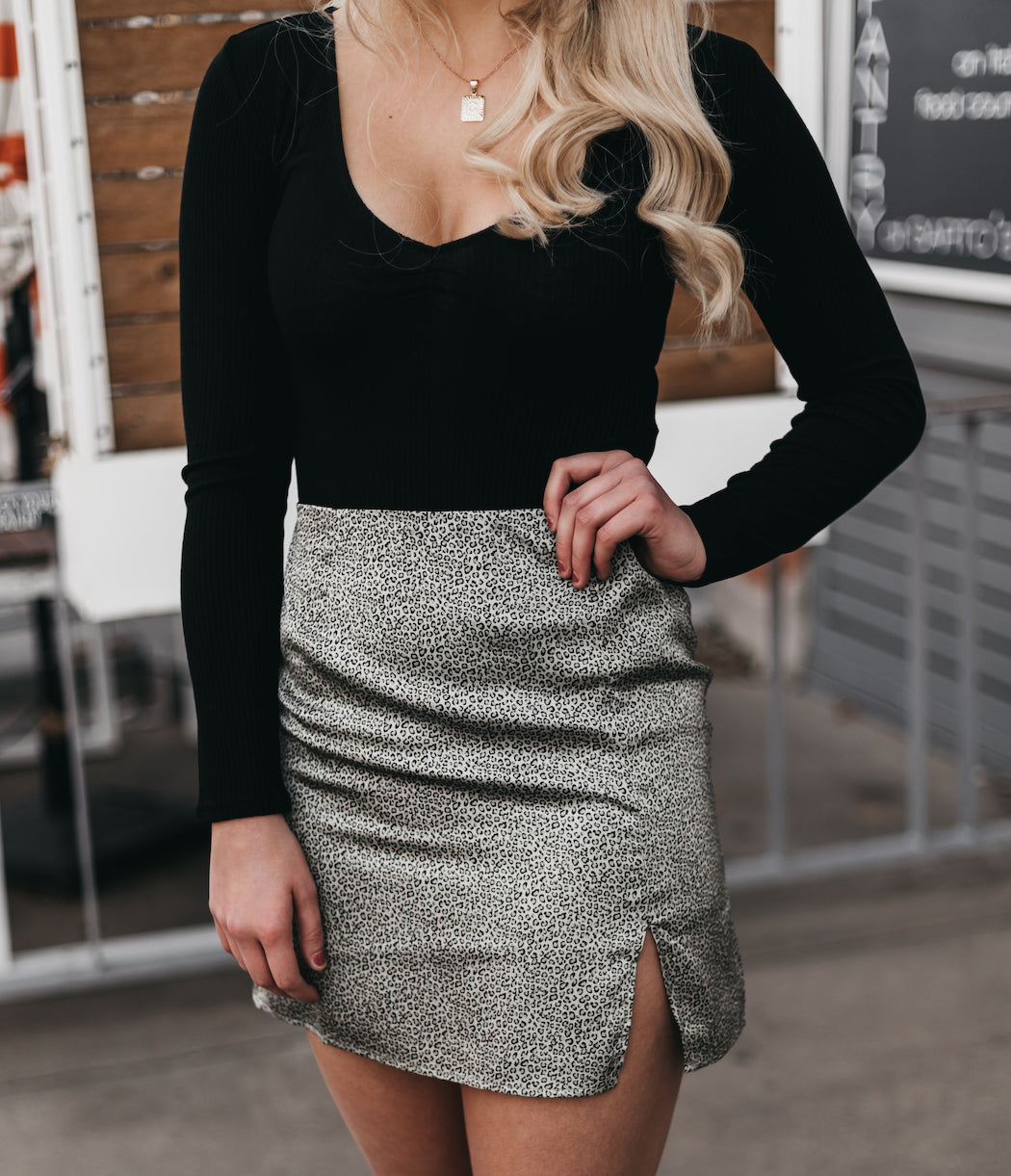 SAGE THE LABEL - Moves In Mini Skirt