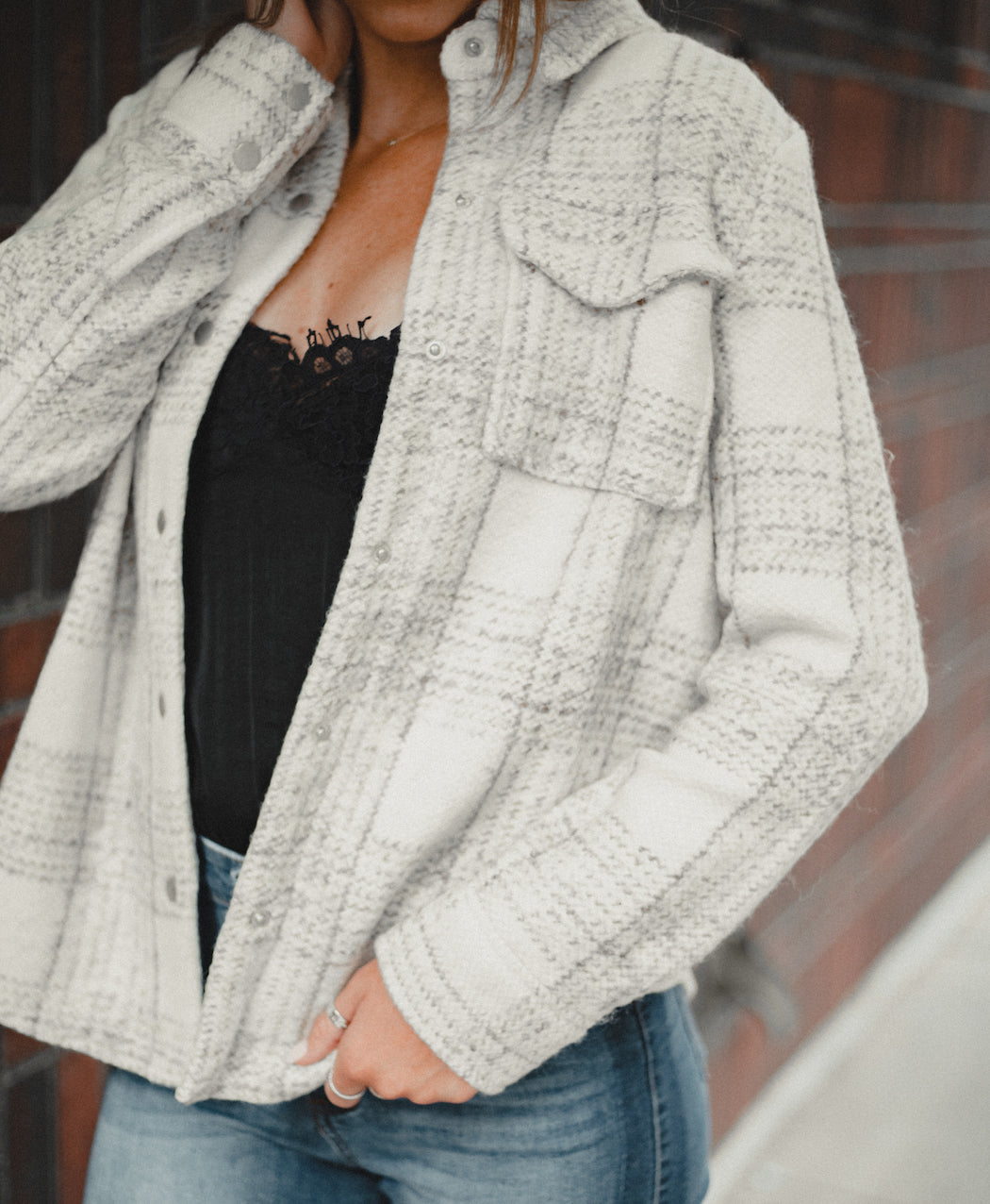 BB Dakota - Work Hard Play Hard Knit Jacket