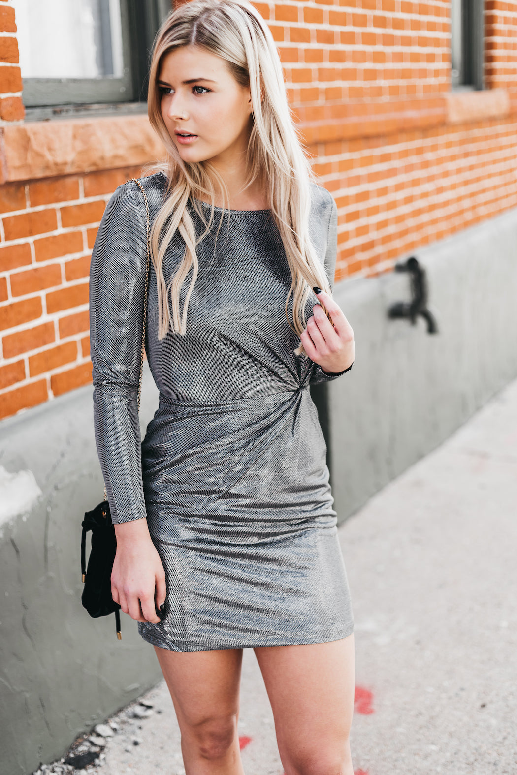 BB DAKOTA - Whats Your Shine Dress