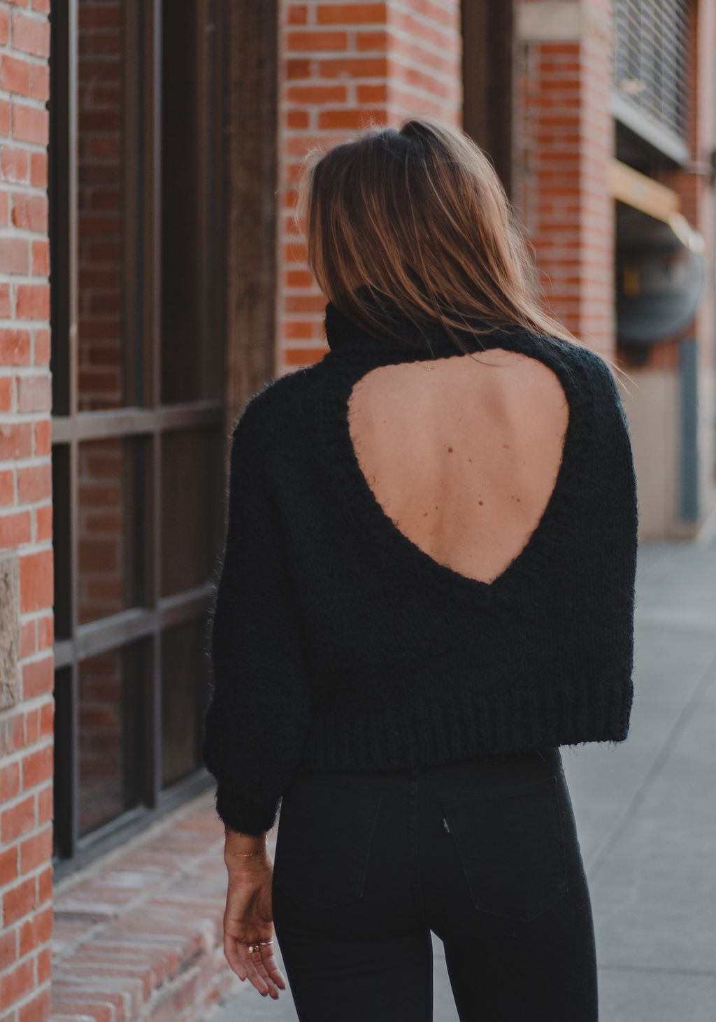 SAGE THE LABEL - Amanda Cable Knit Sweater