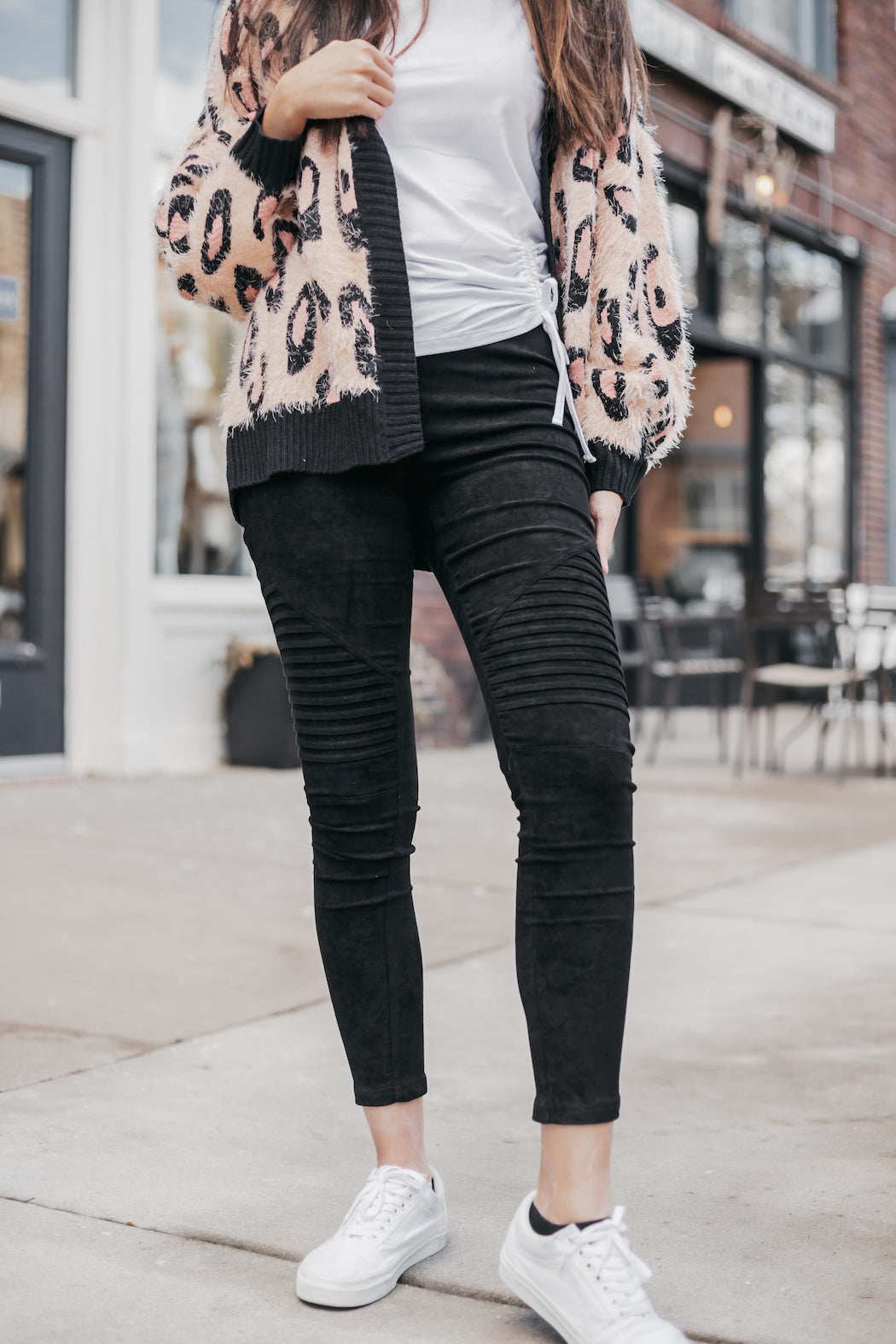 SAGE THE LABEL - Black Roads Moto Legging