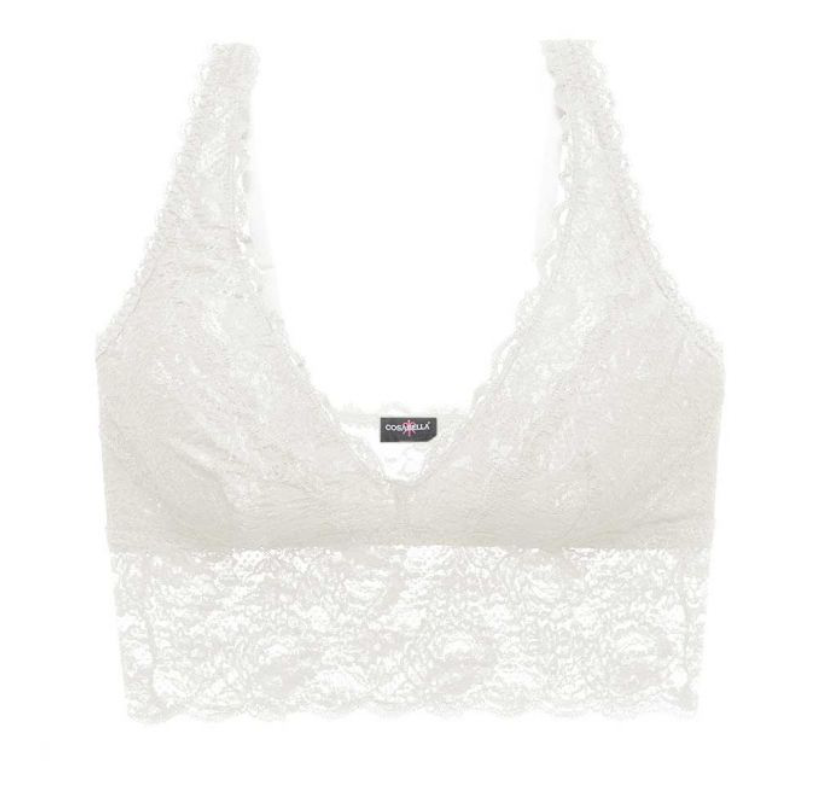 COSABELLA -NEVER SAY NEVER PLUNGIE LONGLINE BRALETTE