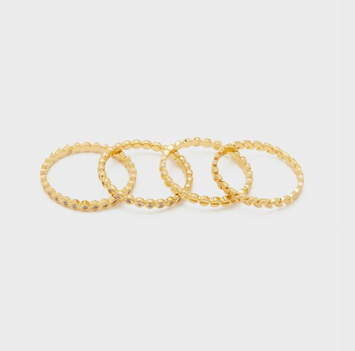 GORJANA - Mini Stackable Ring Set