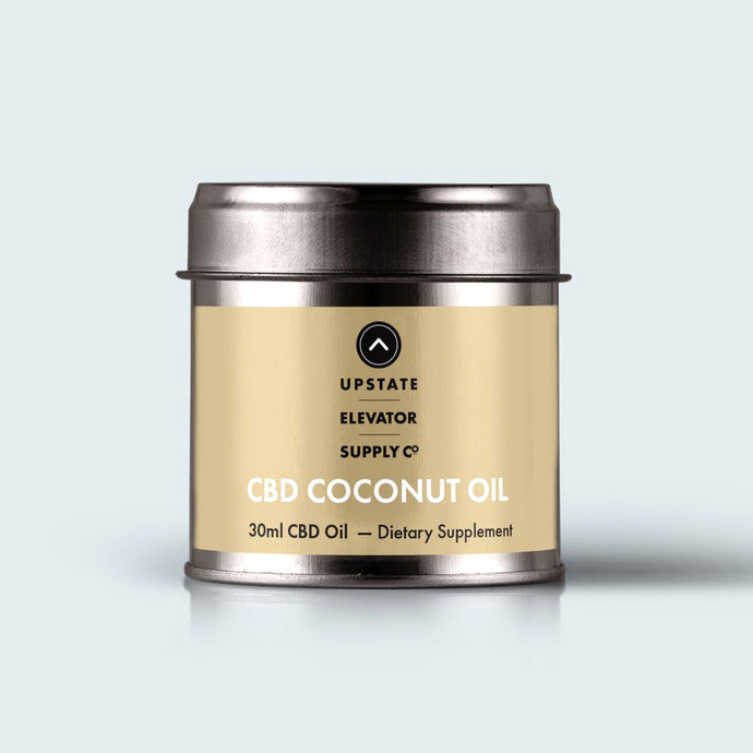 Full Spectrum CBD Coconut Oil