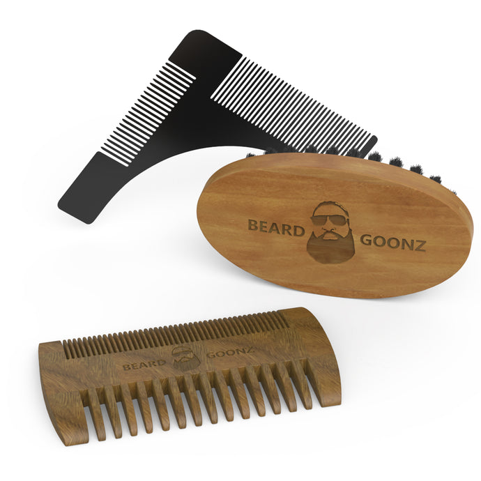 Beard Grooming Trio - Beard Goonz