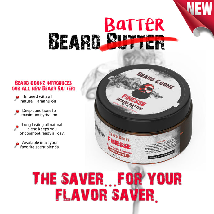 Signature Beard Batter | 4 oz | Infused - Beard Goonz