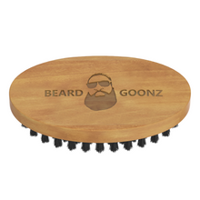 Boar Bristle Logo Brush - Beard Goonz
