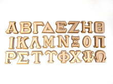 "2"" Stitch Style Greek Letter (Double Layer)"